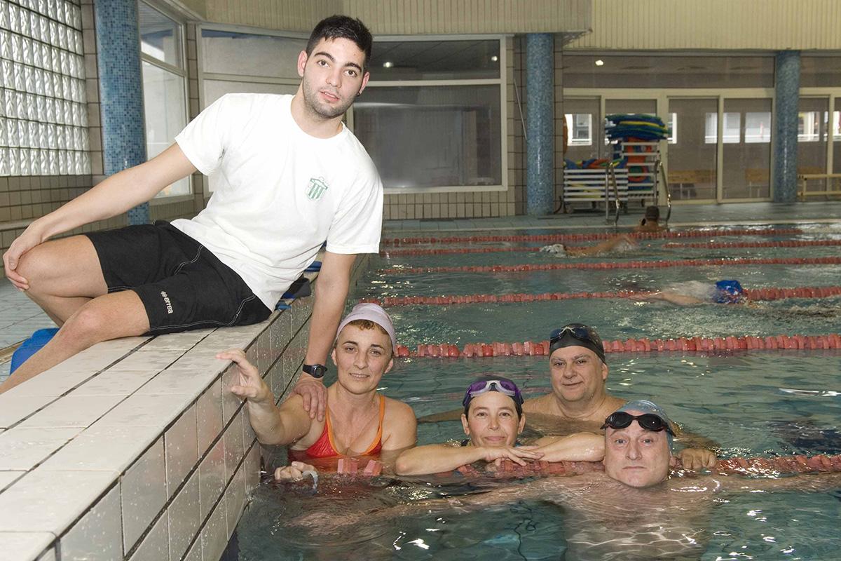 Nadar es un placer sano: escuelas municipales de natación