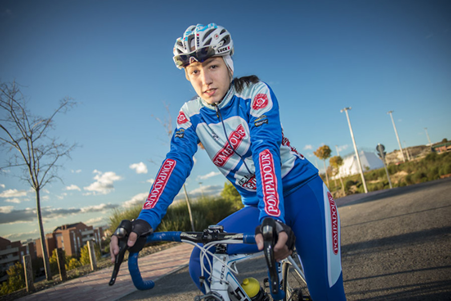 Rocío Núñez, mejor ciclista cadete de Madrid