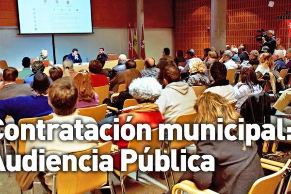 Audiencia Pública sobre contratación municipal en Rivas