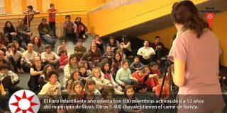 El Foro Infantil de Rivas 2015 presenta sus propuestas