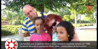 Bienvenida a niños y niñas saharauis 2015
