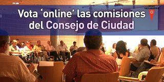 Vota 'online' las comisiones del Consejo de ciudad