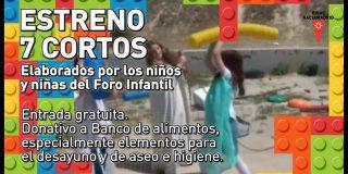 Proyección de cortos elaborados por el Foro Infantil de Rivas 2015
