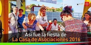 Fiesta de la Casa de Asociaciones 2016