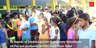 Bienvenida a niños y niñas saharauis 2016