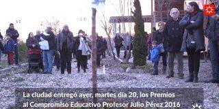 Rivas premia a las personas más comprometidas con la educación pública