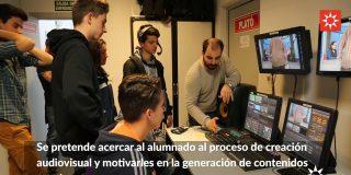 Experiencia audiovisual para más de 160 estudiantes ripenses