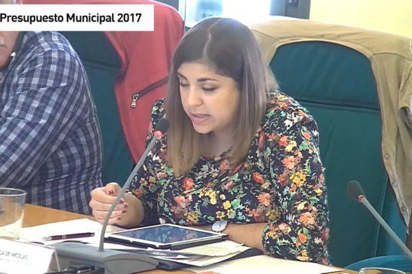 Rivas en Pleno Presupuestos Municipales 2017