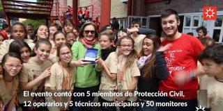 Más de 4.000 niños y niñas participan en las Olimpiadas Escolares de Rivas