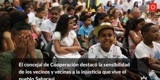 Rivas recibe a los 30 menores saharauis que pasarán las 'Vacaciones en Paz'