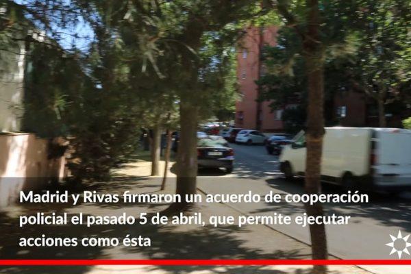 Detenidos 5 narcotraficantes y derribada su guarida en la Cañada gracias a la cooperación policial