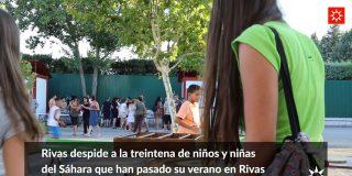Rivas y el Sáhara: otro verano solidario