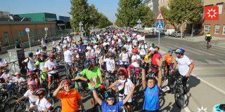 Miles de ripenses celebran la XXI Fiesta de la Bicicleta