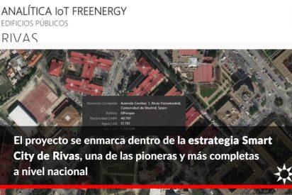 Rivas estrena el primer punto público de carga para el coche eléctrico