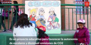 El 'camino escolar' llega al CEIP José Hierro