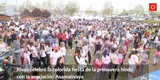 Fiesta Holi. La fiesta del color en Rivas