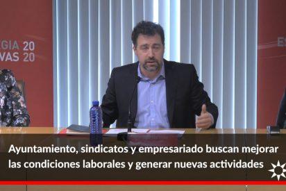 Rivas impulsa el desarrollo económico y el empleo con la firma del Pacto Local