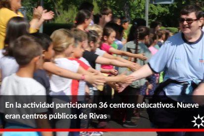 Casi 1.600 personas corren por la integración en Rivas