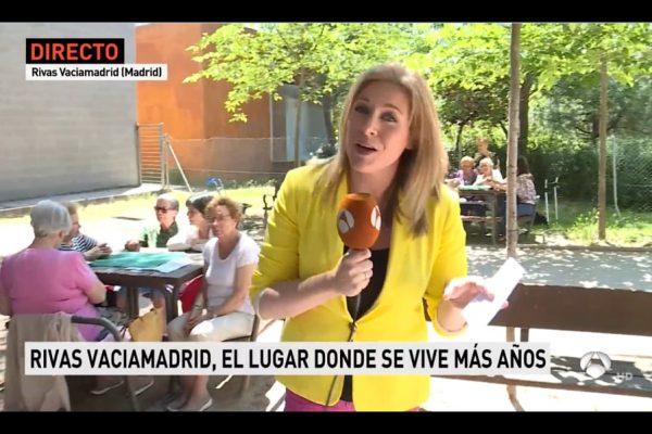 Rivas tiene la mayor tasa de longevidad en toda España. Noticias Antena 3