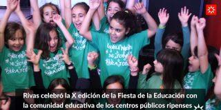 Rivas celebró la X Fiesta de la Educación Pública