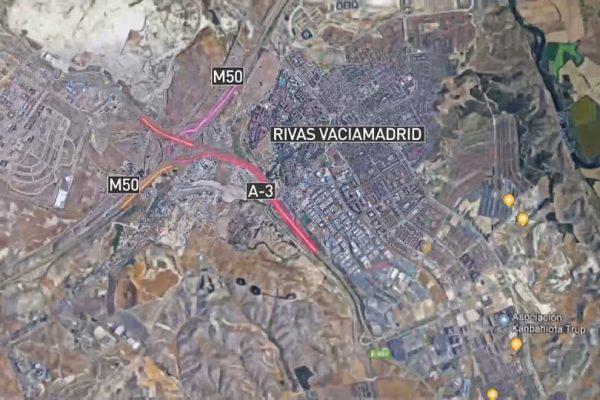 Rivas exige un enlace con la M-50