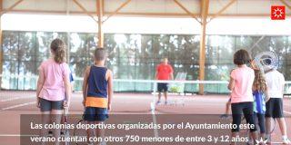 Ocio y deporte para la infancia en los campamentos de verano
