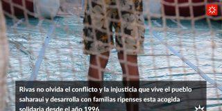 Rivas recibe a 33 menores saharauis que pasarán las 'Vacaciones en Paz'