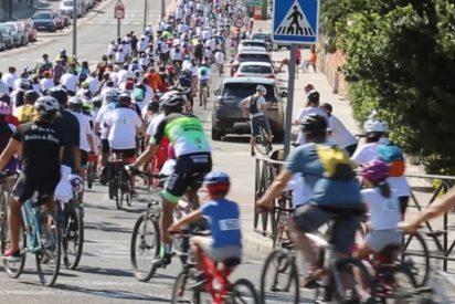 XXII Fiesta de la Bicicleta. Rivas salió a pedalear