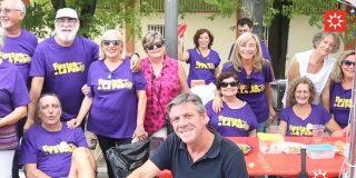 El barrio Pablo Iglesias celebró sus fiestas solidarias