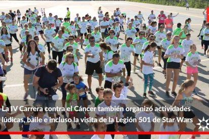 Deporte y solidaridad en Rivas IV Carrera contra el Cáncer
