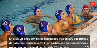 A.D. Rivas Natación, 25 años en el agua