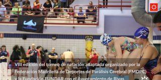 Natación adaptada en Rivas