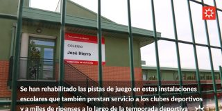 Mejora en las instalaciones deportivas. Cinco pabellones de Rivas mejoran su superficie