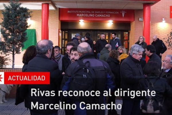 Rivas reconoce al dirigente Marcelino Camacho