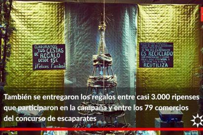 Rivas culmina la 'Campaña de Navidad' del comercio local con la entrega de premios