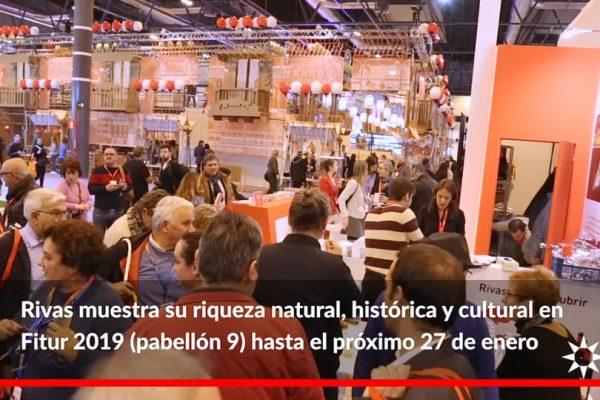 Rivas vuelve a Fitur. Feria Internacional de Turismo