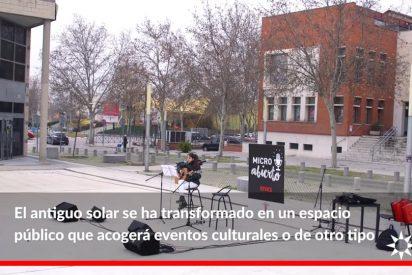 Rivas recupera una plaza para uso público junto a Correos
