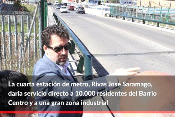Rivas cede a la Comunidad una parcela para la cuarta estación de metro de la ciudad