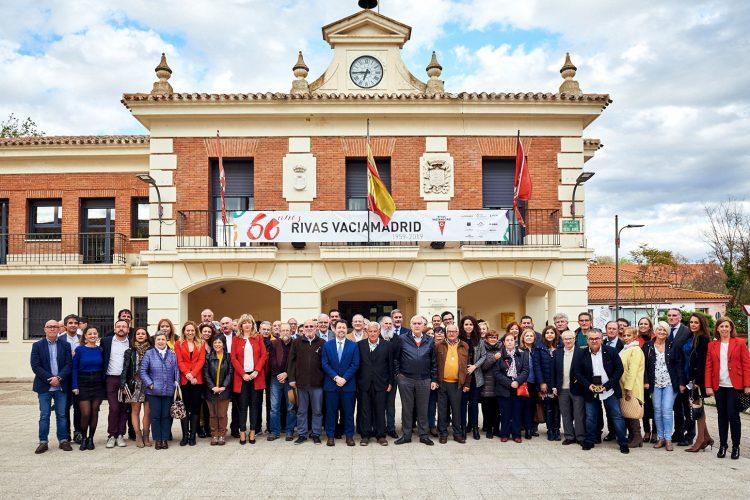 Rivas homenajea a la corporación de 1979