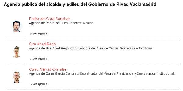 Ediles de Rivas: conoce su agenda diaria