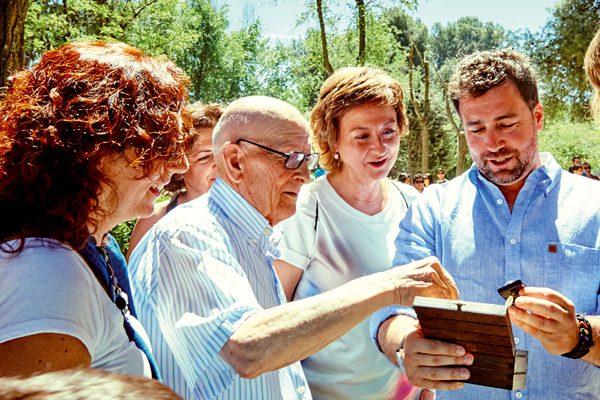 Agustín Sánchez dona su obra al archivo local