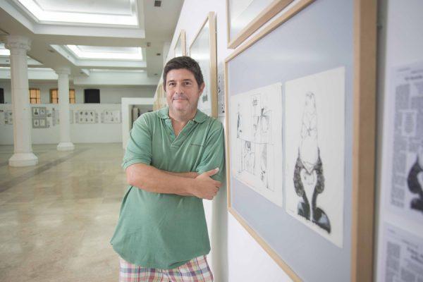 Sciammarella: el artista de la caricatura
