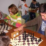 Clasificaciones del torneo de ajedrez