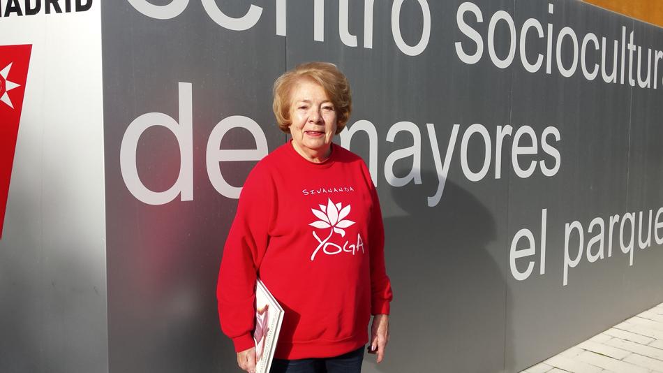Alicia San Emeterio, 81 años: yogui ilustrada