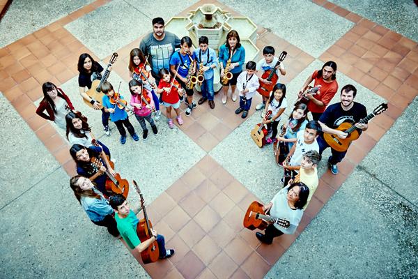 Escuela de Música: la banda sonora de Rivas