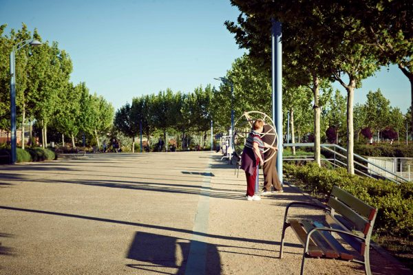 Rivas convierte 25 parques en biosaludables