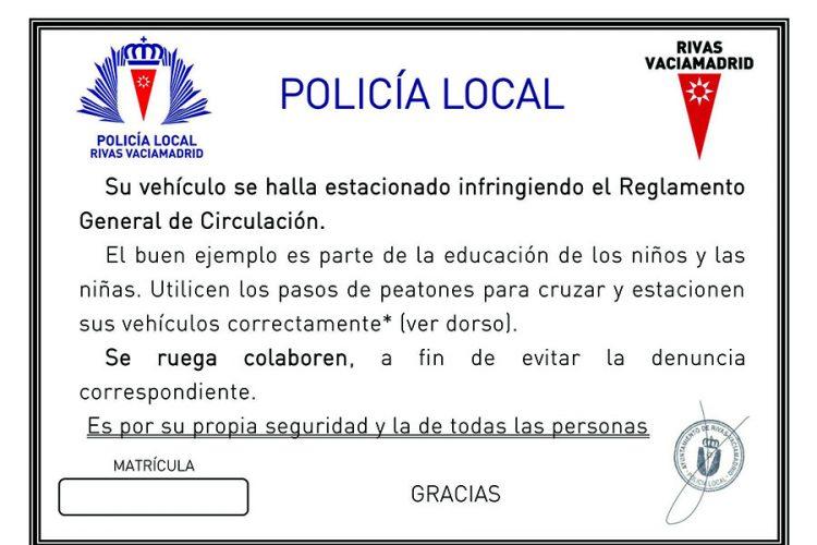 Campaña contra el mal estacionamiento en colegios