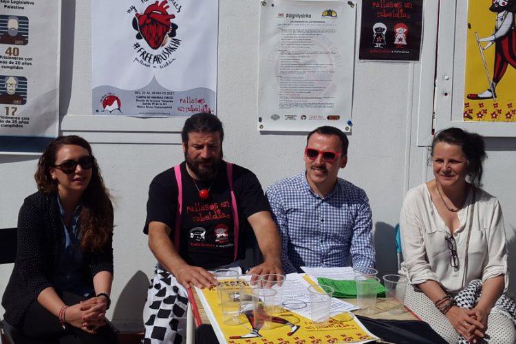 Ayuno solidario de España con Palestina, a Rivas
