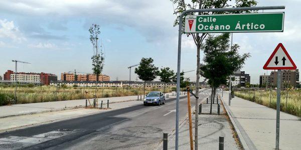 Nuevos tramos abiertos en el barrio de La Luna