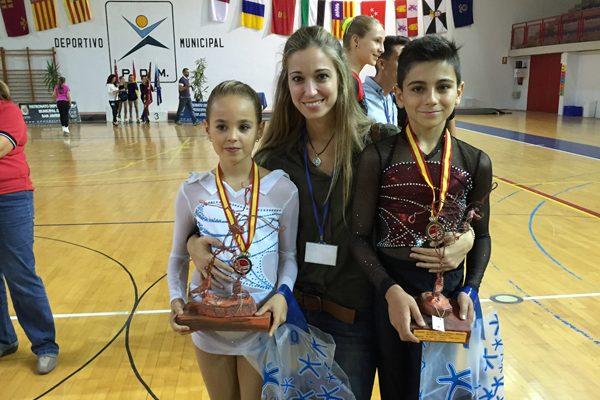 Una pareja infantil, campeona de España